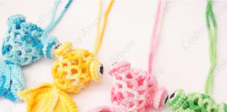 Crochet Little Goldfish Bag Free Pattern & Tutorial