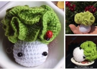 Easy Crochet Cabbage Doll Amigurumi Free Pattern & Tutorial