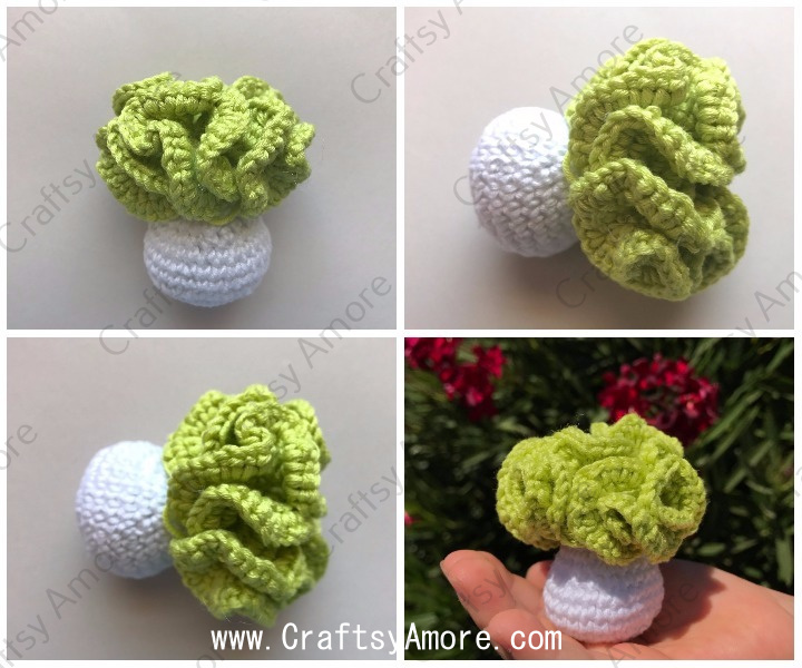 Easy Crochet Cabbage Doll Amigurumi Free Pattern