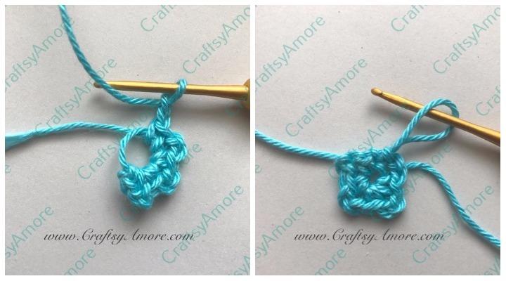 Easy Crochet Hydrangea Flower Free Pattern & Step by Step Tutorial