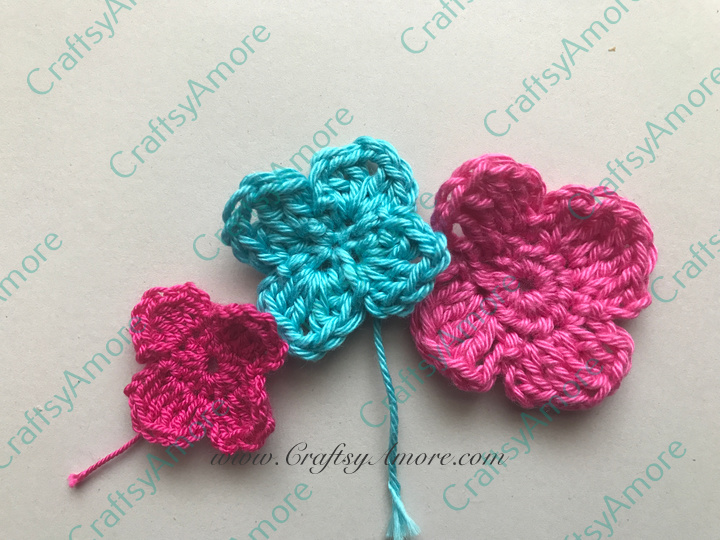 Crochet Hydrangea Flower Free Patterns Easy Beginner Tutorial