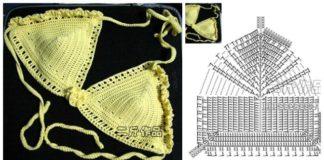 Crochet Bikini Set Free Patterns - Charts