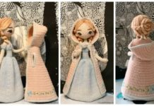 Amigurumi Princess Doll in Cape Crochet Free Pattern