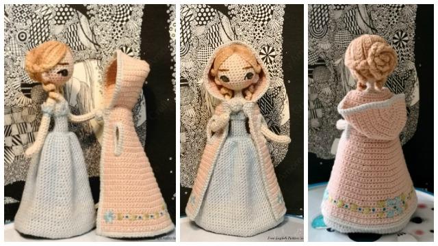 Kendra- Amigurumi Doll Crochet Pattern PDF | Patron muñeca ... | 360x640