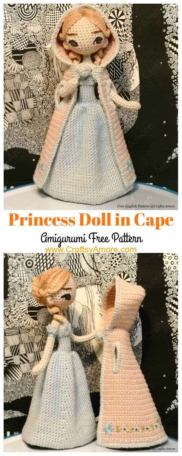 40 Crochet Doll Patterns (Clothing & Accessories) | AllFreeCrochet.com | 1500x600