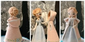 Amigurumi Princess Doll in Cape Crochet Free Pattern - Part 2 Cape