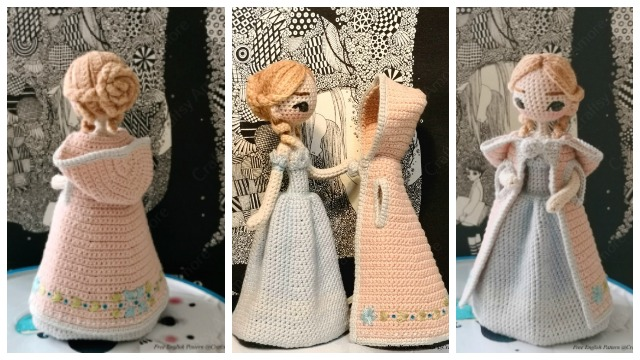Baby Knitting Patterns Sleepy Doll Amigurumi Free Crochet Pattern ... | 360x640