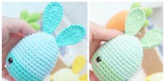Lalyla Easter Bunny Egg Free Crochet Pattern CAL