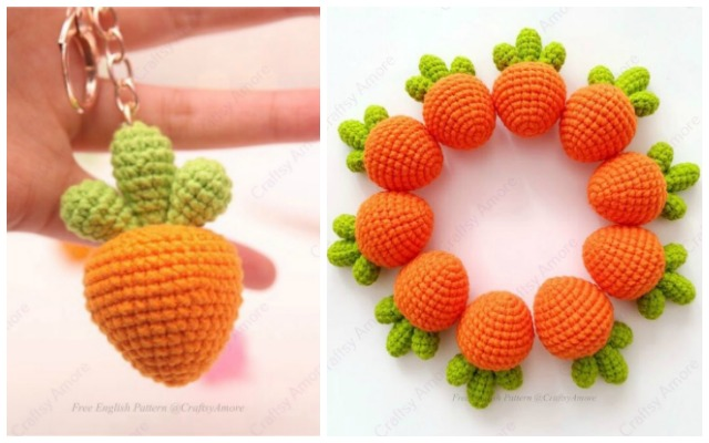 Crochet Amigurumi Fruits Free Patterns | 400x640
