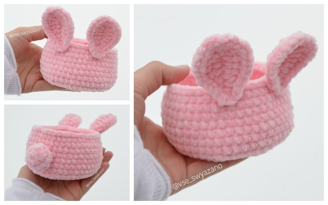 Crochet Amigurumi Bunny Toy Free Patterns Instructions | Easter ... | 400x640