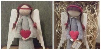 Easy Crochet Angel Amigurumi Free Pattern