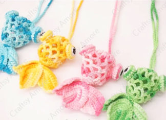 Crochet Little Goldfish Bag Free Pattern & Tutorial