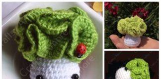 Easy Crochet Cabbage Doll Amigurumi Free Pattern & Tutorial
