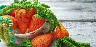 Crochet Perfect Carrot Amigurumi Free Pattern With Video