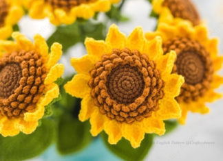 Sunflower Bouquet Free Crochet Pattern