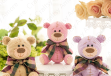 Amigurumi Patches Teddy Bear Free Crochet Pattern